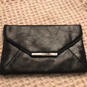 Black envelope purse